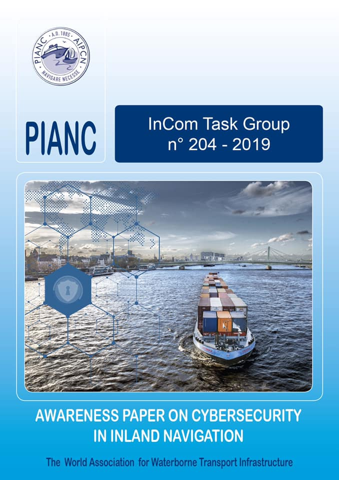 PIANC InCom TG 204 - 'Awareness Paper on Cybersecurity in Inland Navigation'